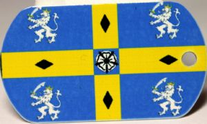 Durham County Flag Tag